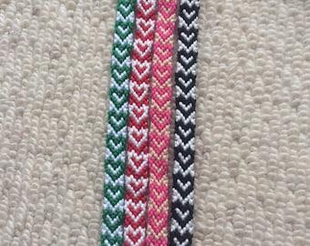 Love heart pattern Friendship Bracelets