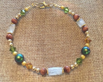 Plus size fall bracelet