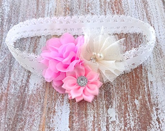 Baby Headband, Baby Girl Headband, Baby Shower Gift, Infant Headbands, Flower Headband, Baby Headbands, Newborn Headband, New Baby Gifts