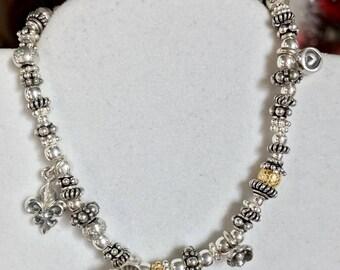 Bali Sterling Silver Stretch Bracelet