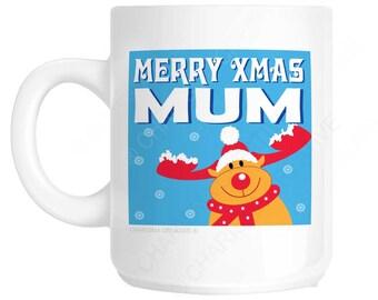 Merry Xmas Mum Novelty Fun Mug CH339