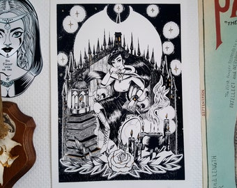 The Witch - Limited edition silkscreen print