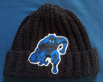Black Panther Beanie Ships Free
