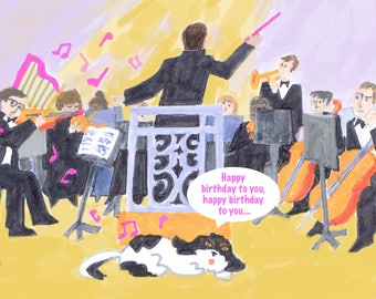 Jordy and the Orchestra Birthday Wishes