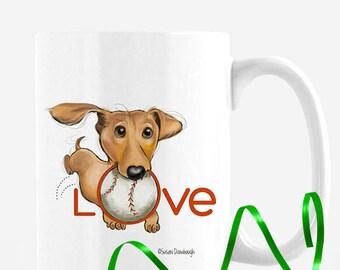 Pet Lover Gift for Teacher / Dachshund / Dachshund Lover Gift / Pet Lover