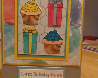 Cupcakes and presents
