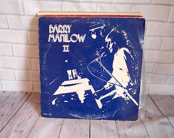 Barry Manilow II Vinyl Record (1974)