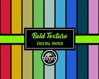"Bold Texture Digital Paper Set ~ Digital Paper, jpeg 12""x12"" 300dpi"