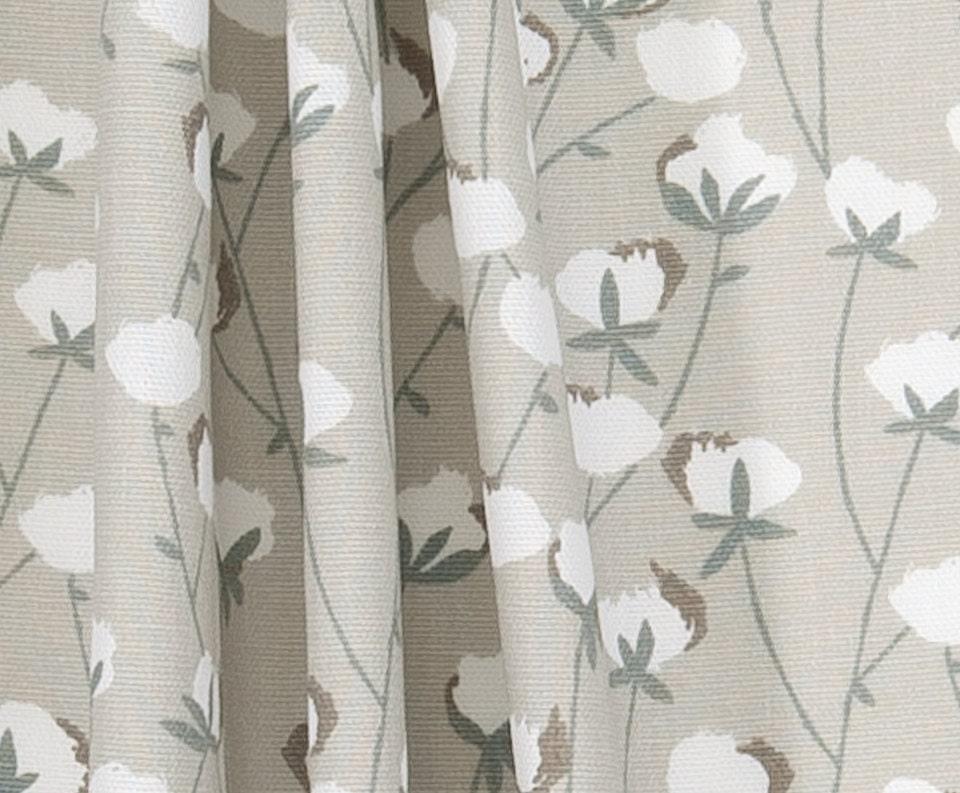 Southern Cotton Bolls Fabric Designer Home Decor Fabric