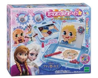EPOCH Aqua Beads Jewels Design Toy Art DIY Kit Disney Frozen Queen Set AQ-S39 - Shipping from Japan