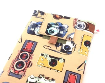 iPad 2 case, Vintage Camera iPad case, Vegan iPad case, Tablet case, Handmade iPad case