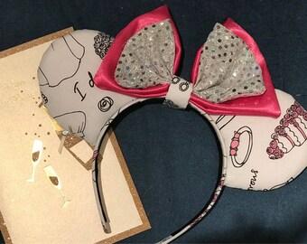Wedding Bells Minnie Ears