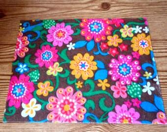 BarbieBrown Flower Rug