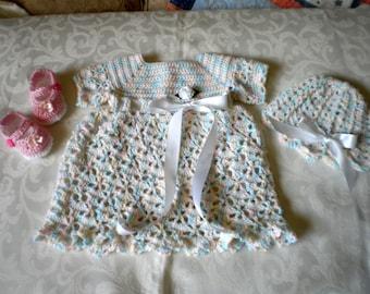 Ensemble de robe Pastel sec 3 pièces