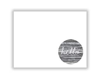 Modern Textured Greeting Card