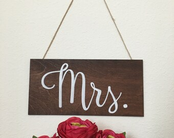 Mr & Mrs Chair Signs, Wedding Chair Signs, Better Together Chair Signs, Bride and Groom Chair Signs, Wedding