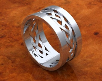 Silver & Palladium Alloy Ring