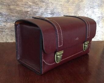 Handmade Luxury Leather Dopp Kit, Toiletry Bag, Mens Shaving Bag, Ladies Cosmetics Bag