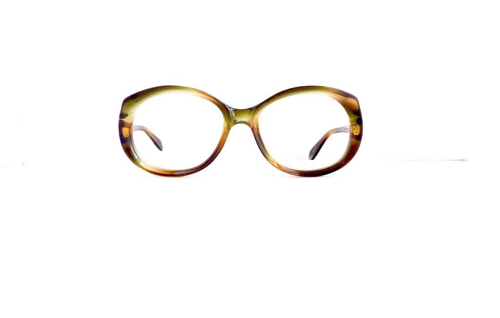60er Jahre Rodenstock Marke ab Runde Brillen Damen Vintage
