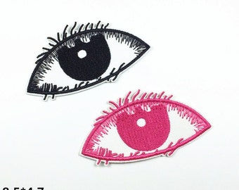 eye patch eye patches funny patch punk patch embroidered patches sew on patch iron on patch iron on patches 8.5*4.7 (A41)