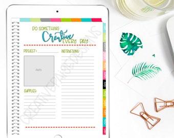 Digital Planner Creative Project Plan