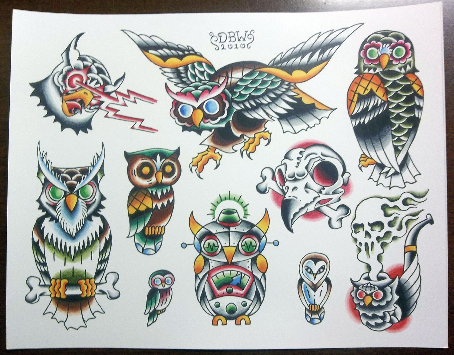 Ed Hardy Tattoo Designs Coloring Sheets