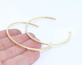 24k Shiny Gold Wire Bracelet , Expandable Bangle  , Bangle Bracelet, Adjustable Bracelet Wire , width 2,3mm , CF,  CHK197