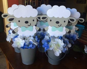 Little Lamb Centerpieces