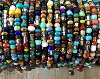 Boho Eclectic Beaded Bracelets