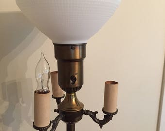 Attractive Vintage Victorian Style Floor Lamp