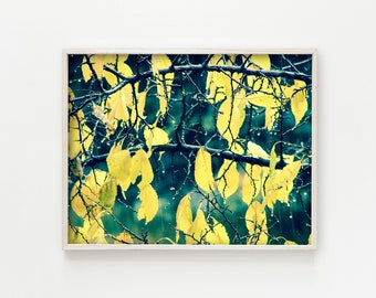 """printable wall art, printable art, digital download, instant download art, botanical wall art, botanical prints, botanical decor - """"Changes"""""""