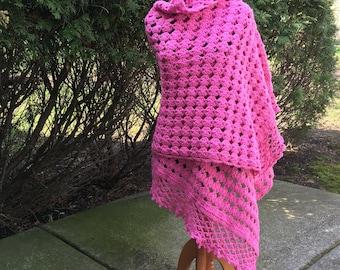 Crochet Shawl Pattern, Shawl Pattern, Instant Download