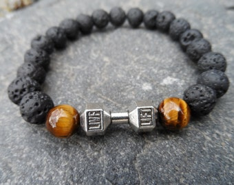 Genuine stones bracelet