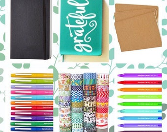 Blank Journal - Bullet Journal Starter Kit