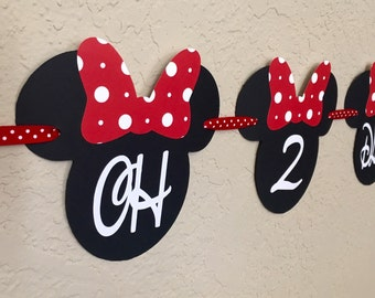 Minnie Oh 2 Dles Birthday Banner, Oh-Two-Dles Banner, Minnie Oh-Two-Dles, Minnie Mouse Birthday, Minnie Mouse Party, Minnie Mouse Banner