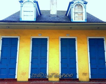 New Orleans House, New Orleans Art, New Orleans Photography, Architecture, French Quarter House, French Quarter Art, French Quarter Photo