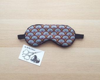 Sleeping mask / / sleep mask / / sleep accessory / / sleep - Burgundy Peacock accessory