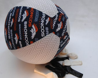 Denver Broncos: Tailgate Toy-Fabric Covered Balloon