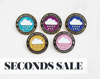 SECONDS SALE - B Grade Pins - Please Read Description