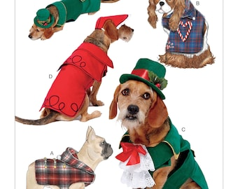 Butterick B6536 Dog/Pet Coats and Hats