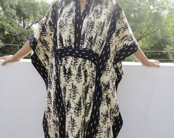 Caftan, Caftan dress,  Kaftan maxi dress, Kaftan dress, Beach Kaftan, Handblock Dress, Beach Kaftans