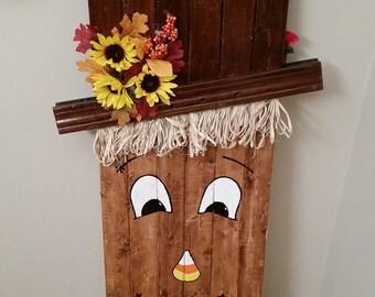 Scarecrow/Snowman Decoration