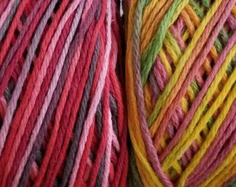 Hand Dyed Yarn - Summer Themed