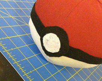 Pokeball Pokemon Pillow DIGITAL Pattern (Two Sizes)