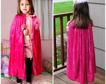 Fait à la main Costume Cape de princesse Halloween fille enfants enfant enfant enfants