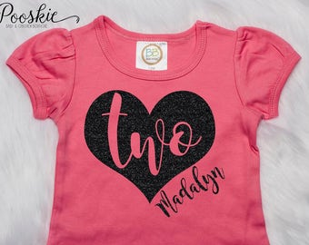 Second Birthday Shirt Im 2 Custom 2nd For Two Year Old Personalized T Girls P49