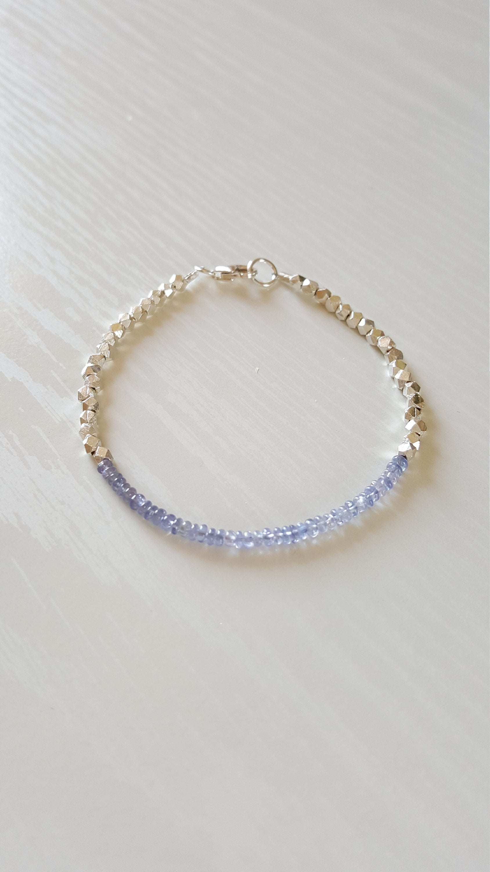 tw bracelet with gold tanzanite yellow diamonds in