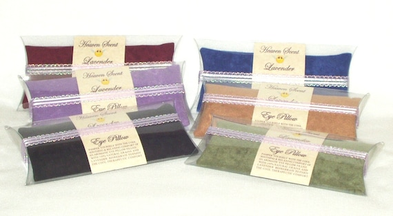 Eye Pillows---Luxurious  Lavender  Scented---Soothing & Relaxing Comfort