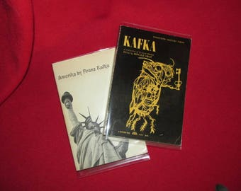 "Two Vintage Philosophy Books, ""KAFKA"""