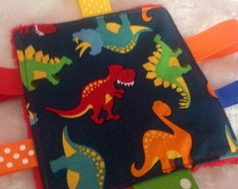 Dinosaur Baby Crinkle Toy